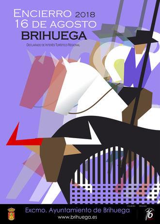 El Encierro de Brihuega de este año ya tiene su cartel anunciador