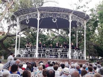 La Banda de la Diputación de Guadalajara mostró su repertorio por la provincia