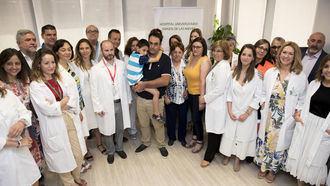 CASO ÚNICO : Implantan en Granada un desfibrilador sin cables a un niño de 5 años con un tumor cardiaco