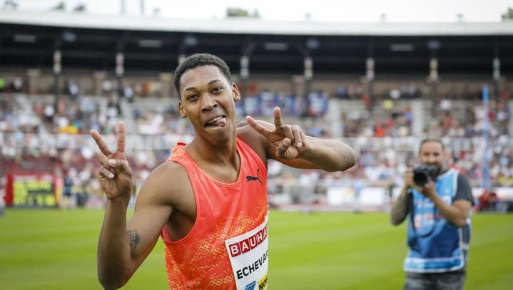 Echevarría gana en Guadalajara con un salto de 8,37