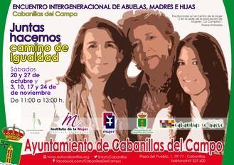 La Asociación de Mujeres impulsa un Encuentro Intergeneracional de abuelas, madres e hijas de Cabanillas