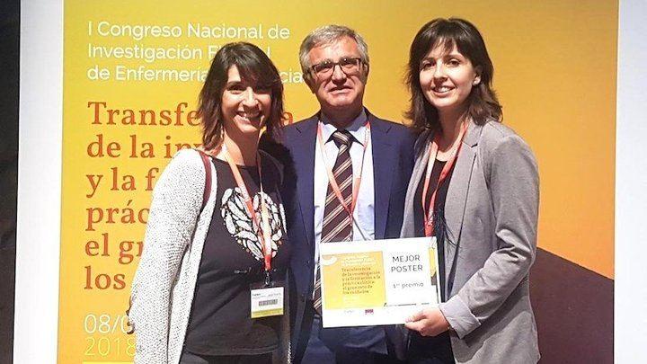 Enfermeras de Albacete premiadas en el Congreso Nacional de Investigación por un estudio sobre la musicoterapia