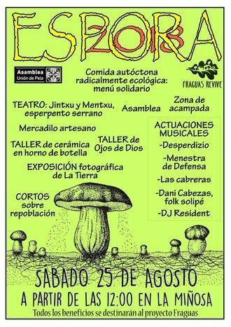 La Miñosa acogerá el VII Festival Espora 2018