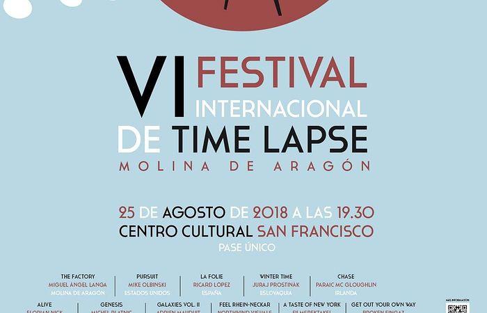 Todo listo para el VI Festival Internacional de Time Lapse en Molina de Aragón