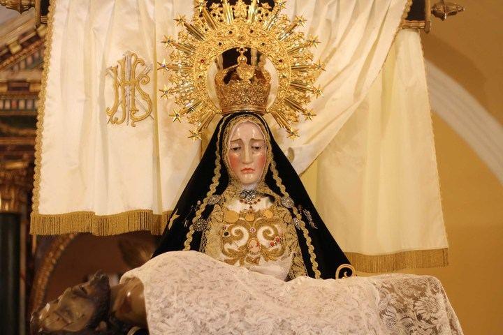 Virgen de las Angustias de Escariche