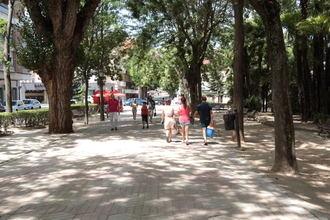 Guadalajara sigue con la gran ola de calor este viernes con 23ºC de mínima y 39ºC de máxima