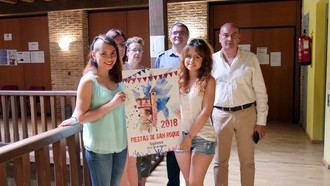 Anna Zelinskaya, ganadora del concurso de carteles de San Roque 2018 en Sigüenza