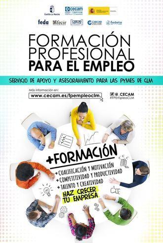 CEOE-Cepyme Guadalajara asesora a empresas sobre la formación profesional para el empleo