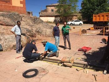 Más de 150.000 euros de Diputación en obras de renovación de redes y pavimentación en cinco municipios