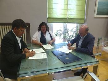 Latre firma cuatro convenios de colaboración para diferentes actividades y proyectos con la UAH