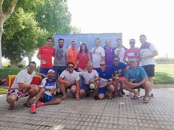 Gran nivel mostrado entre las parejas participantes en el V Torneo del Pádel de Yebra