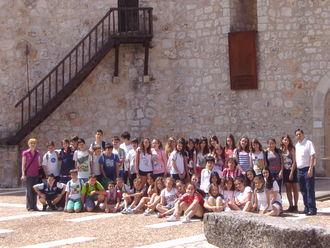 Cerca de 600 escolares de Guadalajara han visitado el castillo de Torija durante el curso escolar