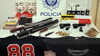 Detenidos cinco miembros del 'Hogar Social Toledo' por acoso y amenazas a agentes de la Policía