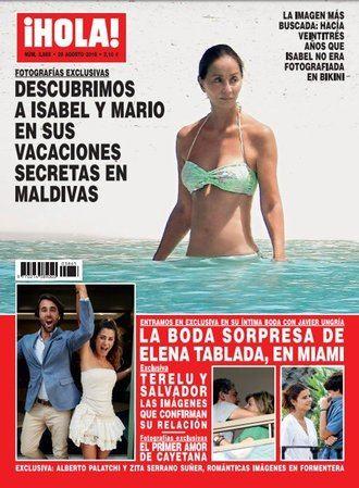 ¡HOLA! Terelu Campos feliz con su nueva pareja, Salvador Pérez