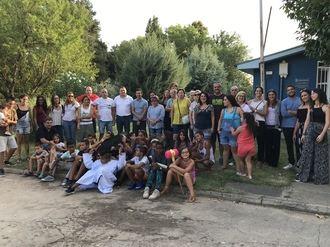 La Diputación acoge la fiesta de despedida a los niños saharauis del programa