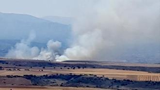 Extinguido el incendio forestal declarado en la provincia de Guadalajara