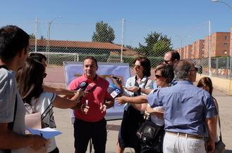 El deporte, gran protagonista del nuevo parque que el Ayuntamiento de Guadalajara creará en Los Manantiales