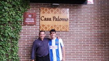 Jorge, nuevo jugador del Hogar Alcarreño