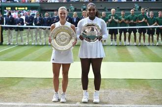 La alemana Kerber vence a Serena Williams y gana Wimbledon por primera vez