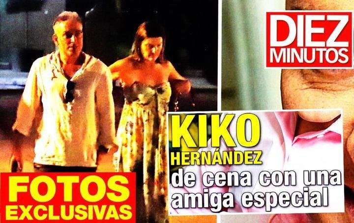 DIEZ MINUTOS Kiko Hernández cena con una amiga especial