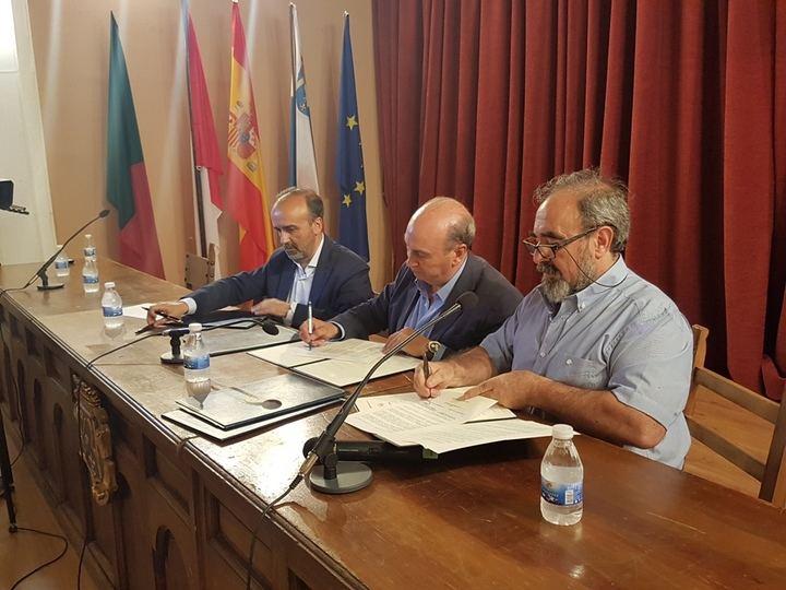 José Manuel Latre confía en que el Geoparque de Molina supere la evaluación y reitera su compromiso con la firma de dos convenios