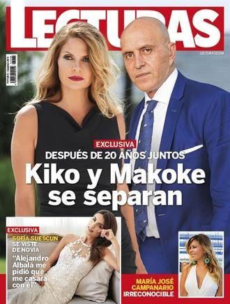 LECTURAS Kiko Matamoros y Makoke se separan tras 20 años juntos