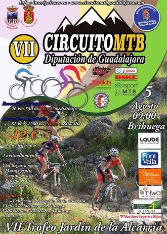 Este domingo, nueva prueba del Circuito MTB Diputación de Guadalajara en Brihuega