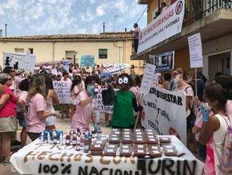 Nueva protesta contra una macrogranja de cerdos en un pueblo de Cuenca
