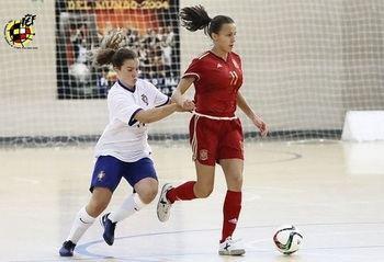 Noelia de las Heras, del Chiloeches, de nuevo con la selección española sub-18 de fútbol sala