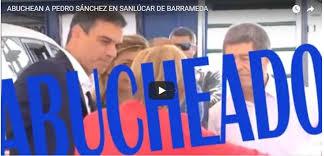 """Gritos contra Pedro Sánchez durante su visita a Sanlúcar de Barrameda: """"¡Fuera, fuera, sinvergüenzas!"""""""