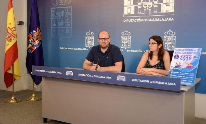 La Diputación de Guadalajara pone en marcha el I Circuito Provincial de Natación Artística