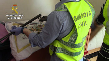 La Guardia Civil desarticula en Toledo un grupo criminal que cometía robos violentos contra personas de avanzada edad