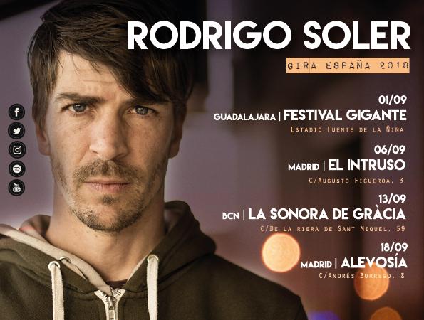 """Rodrigo Soler: """"Los asistentes al Festival Gigante de Guadalajara van a poder disfrutar de nuestro proyecto más salvaje"""""""