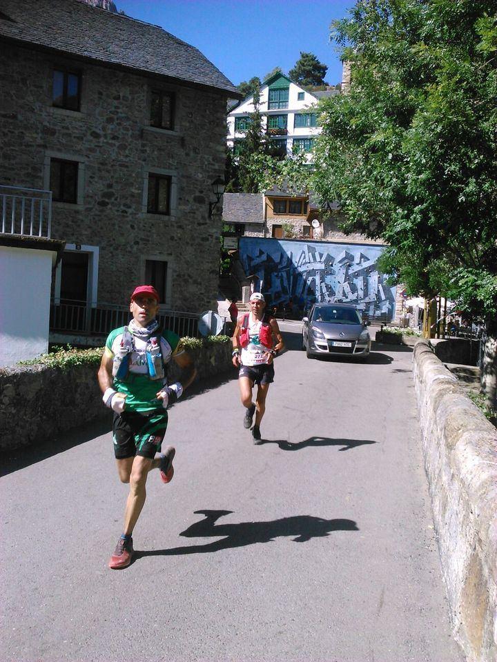 Sergio Tejero, sexto en el Valle del Tena