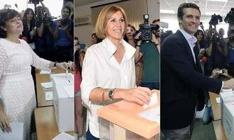 Soraya gana a Casado en las primarias del PP y deja fuera a Cospedal