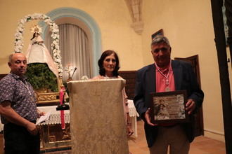 Darío Santos, el profesor de Tamajón, pregona las fiestas patronales en honor a la Virgen de los Enebrales