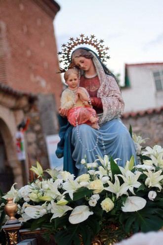 Este próximo fin de semana, fiesta de la Virgen Blanca de Quer