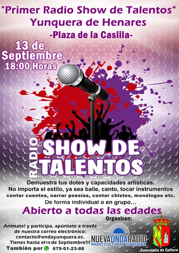 Nueva Onda Radio Yunquera y la Concejalía de Cultura buscando talentos en Yunquera y provincia
