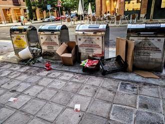 IU vuelve a 'sacar los colores' al socialista Blanco por la suciedad que hay en Azuqueca