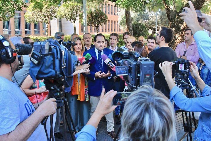 """Núñez en Guadalajara: """"El nuevo PP saldrá de las opiniones de los afiliados, porque están en permanente contacto con la realidad"""""""