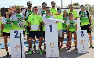 Nahuel Silio y Henar Fernández se imponen en la segunda edición de los 10 kilómetros de Valdeluz