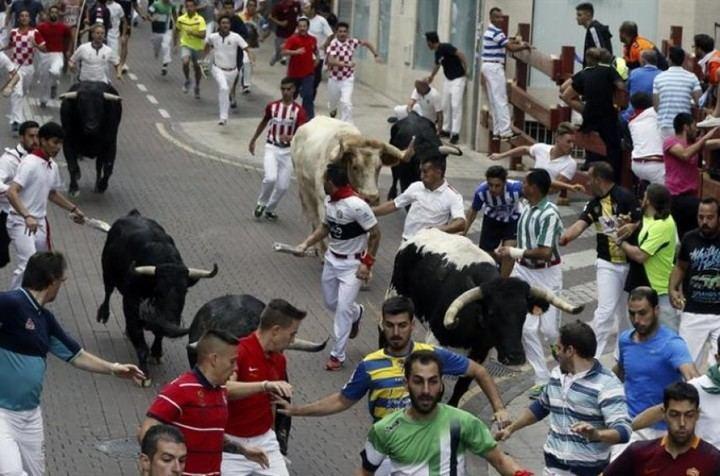 14 heridos y 1.700 corredores en el quinto Encierro de San Sebastián de los Reyes