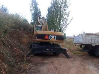 En marcha las obras de acondicionamiento del parque de Las Terreras en el Barranco de las Monjas