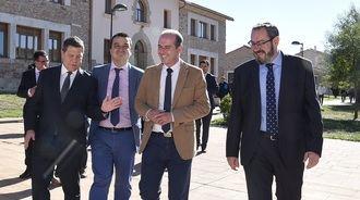 Page realiza un acto en una finca propiedad de la Diputación de Guadalajara... y no invita a la propia Diputación