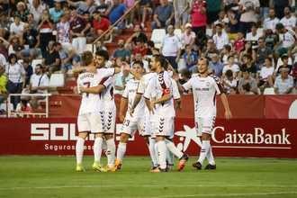 El Alba empata ante el Zaragoza y suma siete jornadas invicto