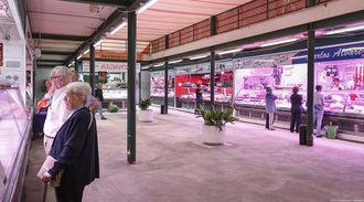Los comerciantes del mercado de abastos de Guadalajara reabrieron sus puestos el pasado lunes