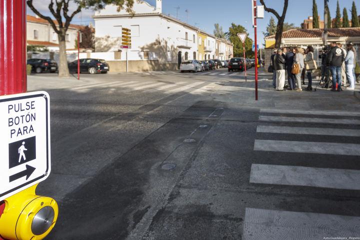 A mediados de diciembre finalizarán los trabajos de Implementación de los Sistemas de Seguridad Vial en Guadalajara