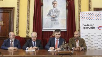 Firmado el convenio de colaboración entre la Fundación Ibercaja y el Patronato de Cultura