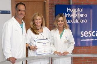 La Unidad de Cirugía Bariátrica del Hospital de Guadalajara premiada con una Certificación de Experto