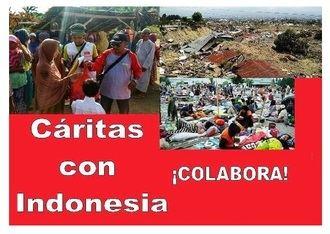 Cáritas Diocesana llama a la solidaridad con Indonesia